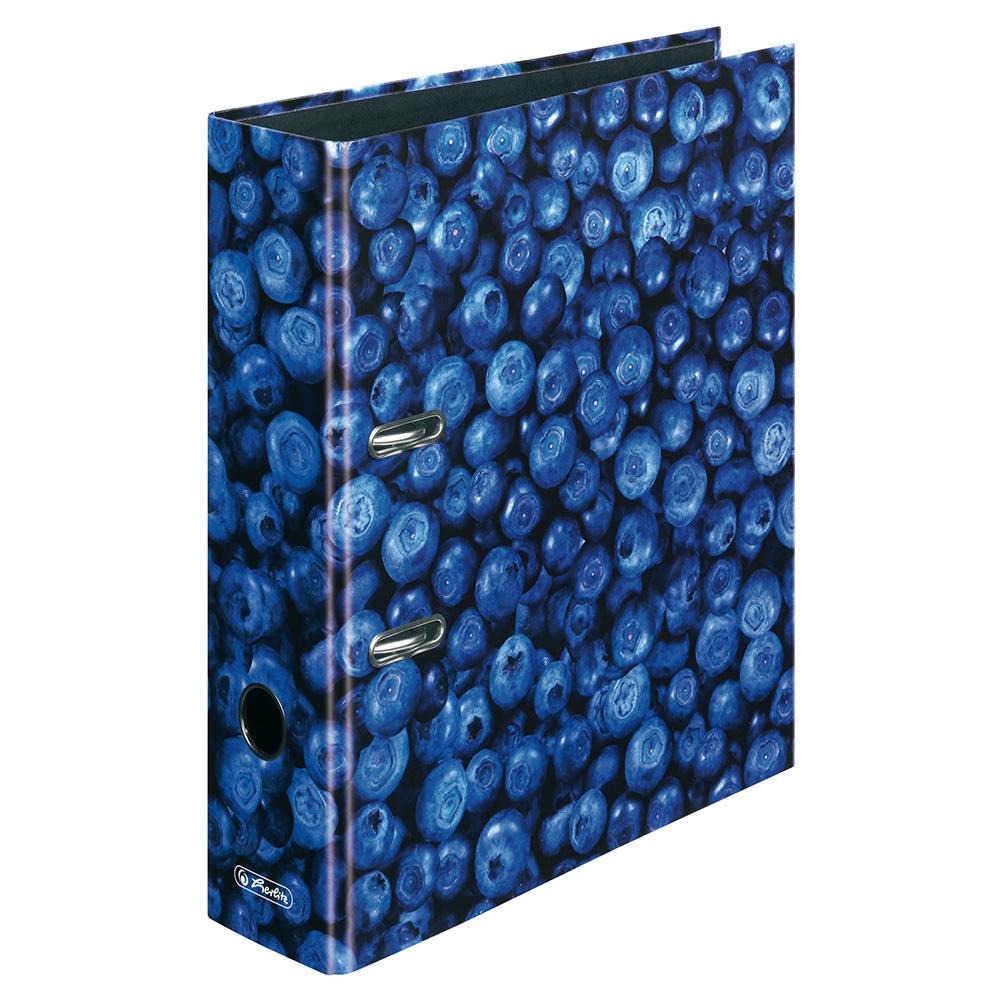 herlitz ordner fresh fruit erdbeere 80 mm din a4. Black Bedroom Furniture Sets. Home Design Ideas