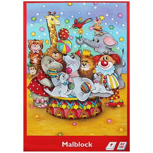 Convex Malblock Zirkus DIN A4