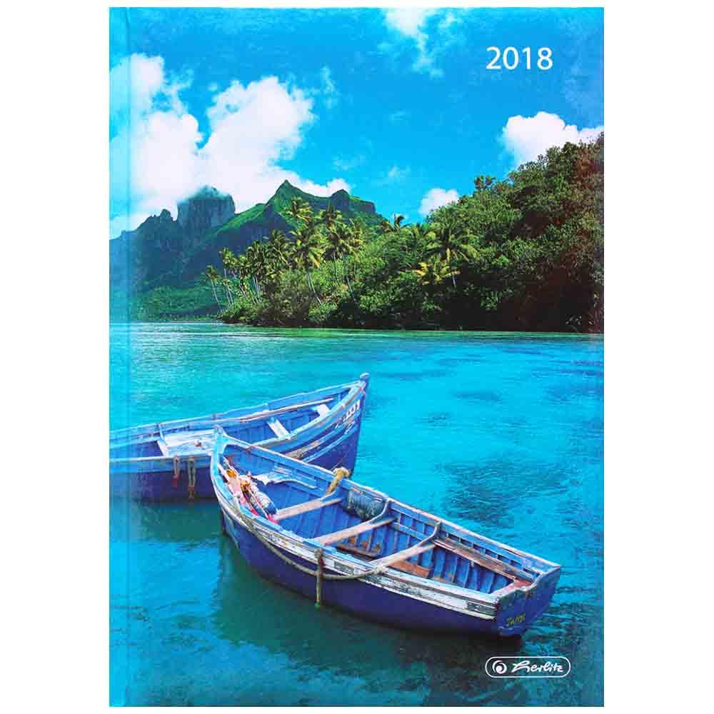 Herlitz Buchkalender Karibik 2018 A5 Rainbow