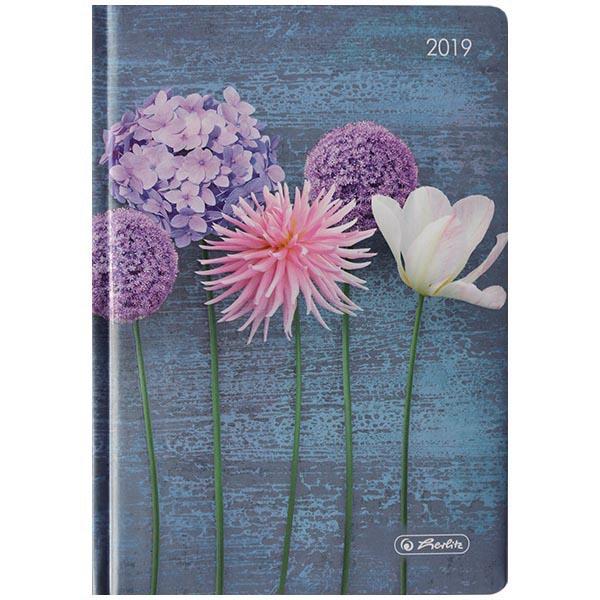 Herlitz Buchkalender A6 Artline Blumen 2019
