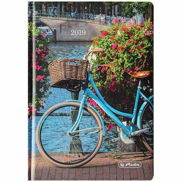 Herlitz Buchkalender A6 Artline Fahrrad 2019