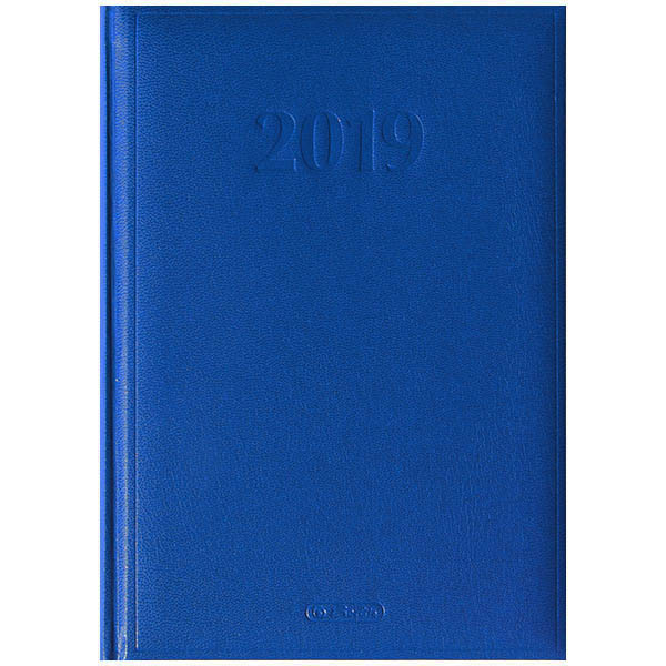 Herlitz Buchkalender Cheftimer 2019 A5 blau