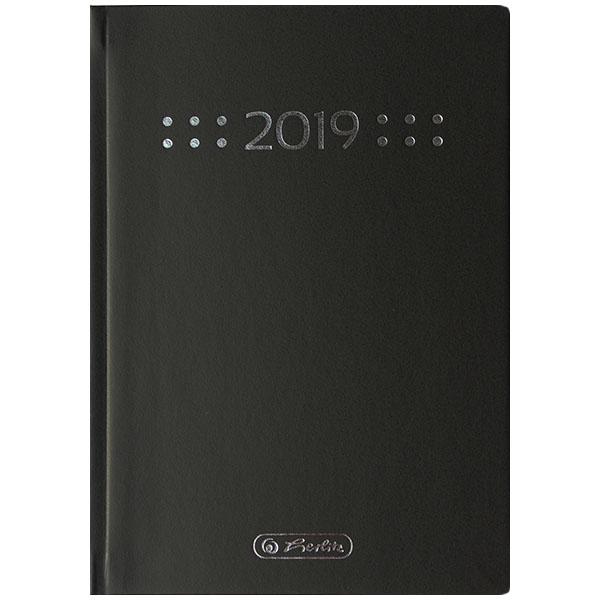 Herlitz Buchkalender A6 Minitimer Classic 2019 schwarz