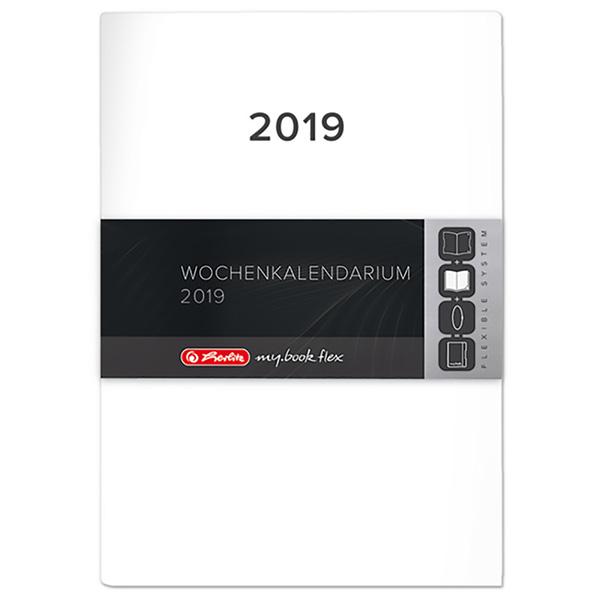 Herlitz Ersatzkalendarium Buchkalender my.book flex 2019 A5