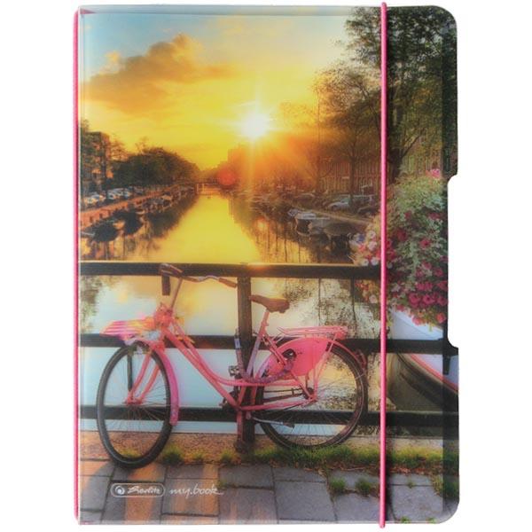 Herlitz Buchkalender my.book flex 2019 A6 Fahrrad