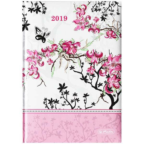 Herlitz Buchkalender A5 Ladylike Bloom 2019