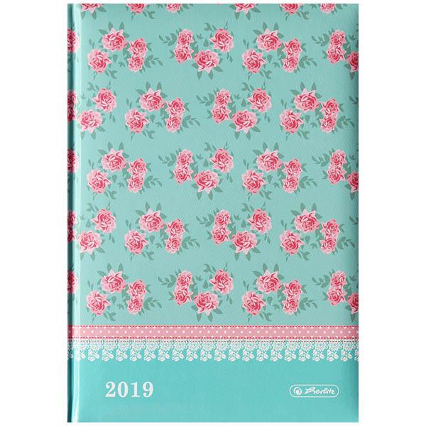 Herlitz Buchkalender A5 Ladylike Roses 2019