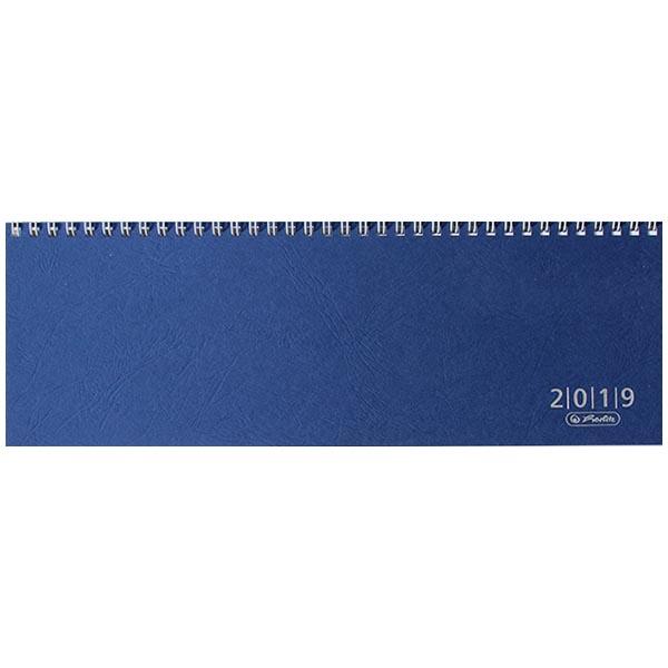 Herlitz Schreibtischkalender Colour 2019 blau