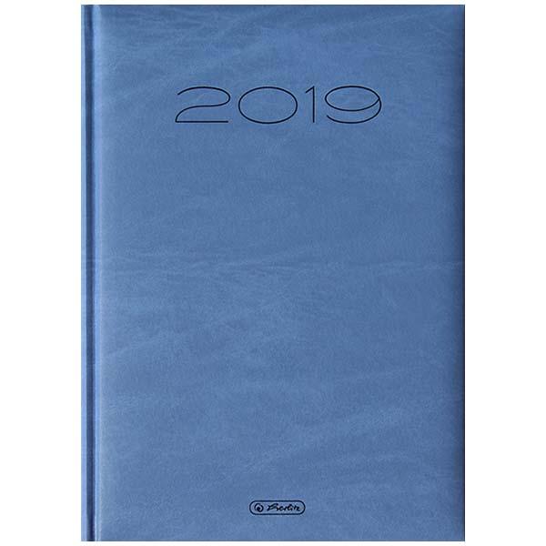 Herlitz Buchkalender Sidney 2019 blau