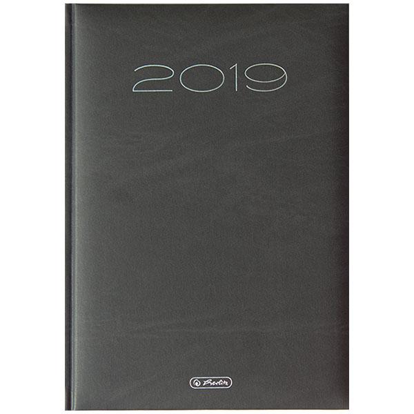 Herlitz Buchkalender Sidney 2019 schwarz