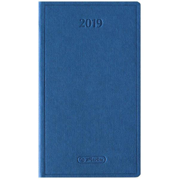 Herlitz Buchkalender Slimtimer Nature 2019 blau