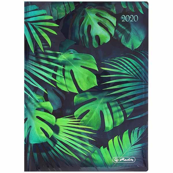 Herlitz Buchkalender A6 Artline Blätter 2020