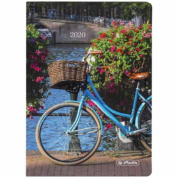 Herlitz Buchkalender A6 Artline Fahrrad 2020