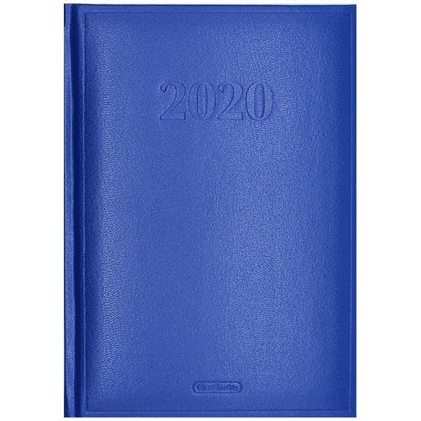 Herlitz Buchkalender Cheftimer 2020 A5 blau