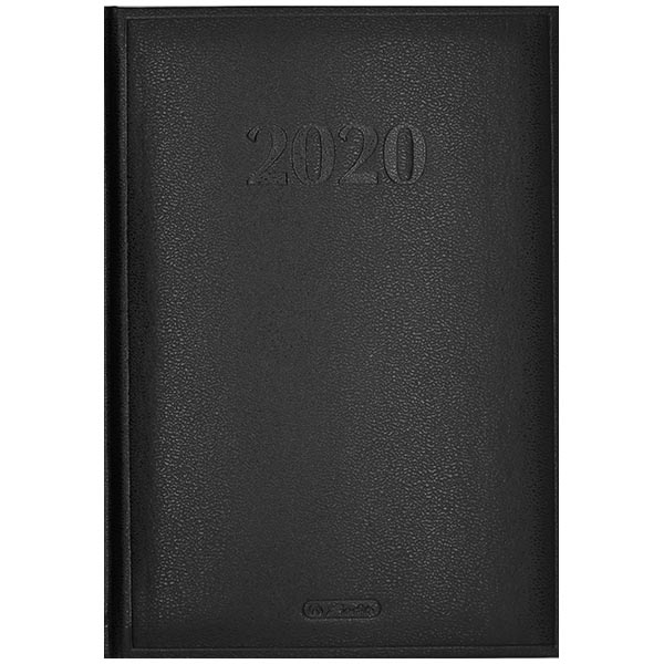 Herlitz Buchkalender Cheftimer 2020 A5 schwarz