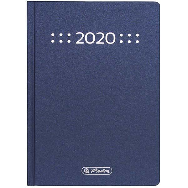 Herlitz Buchkalender A6 Classic 2020 blau