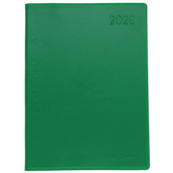 Herlitz Taschenkalender A6 Folie 2020 grün