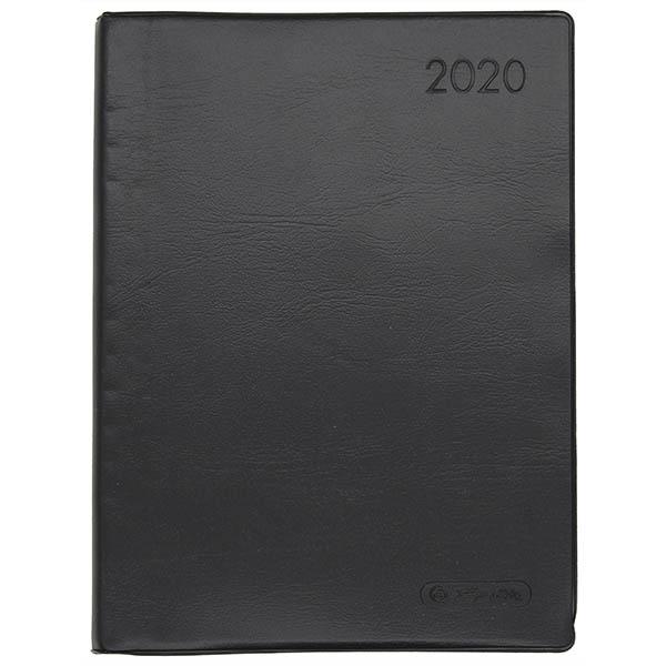 Herlitz Taschenkalender A6 Folie 2020 schwarz