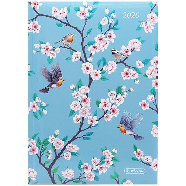 Herlitz Buchkalender A5 Ladylike Birds 2020