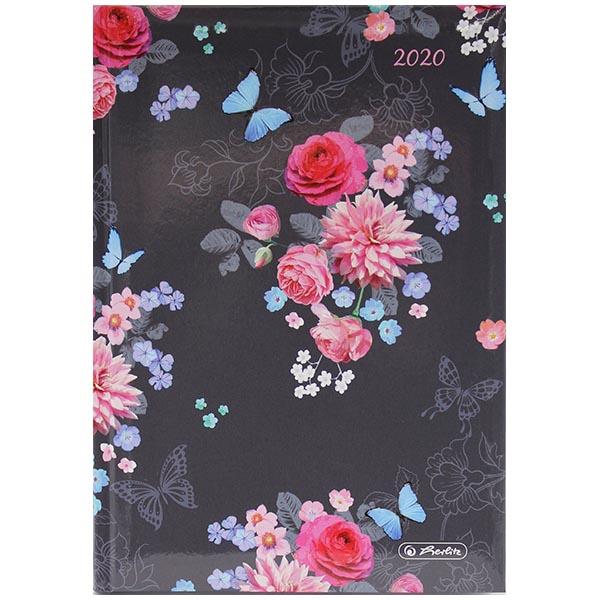 Herlitz Buchkalender A5 Ladylike Flowers 2020
