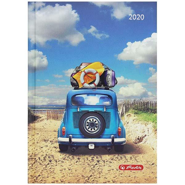 Herlitz Buchkalender Rainbow Auto 2020 A5