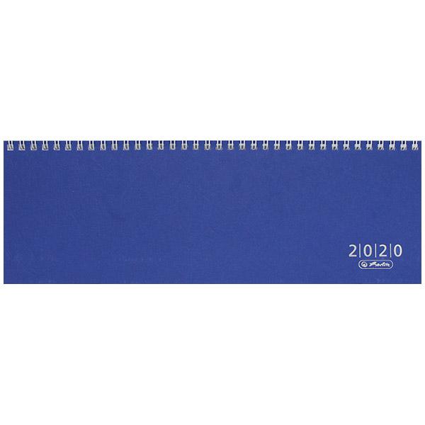 Herlitz Schreibtischkalender Colour 2020 blau