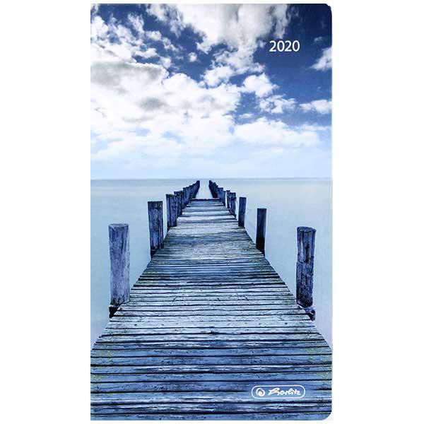 Herlitz Buchkalender Slimtimer Emotion Steg 2020