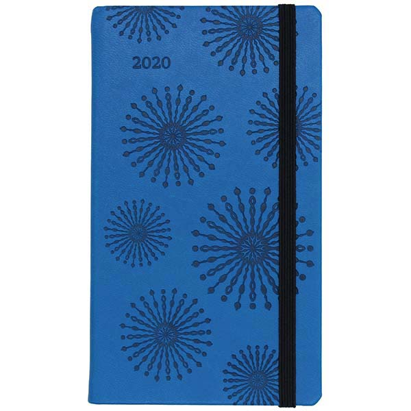 Herlitz Buchkalender Slimtimer Lady blau 2020