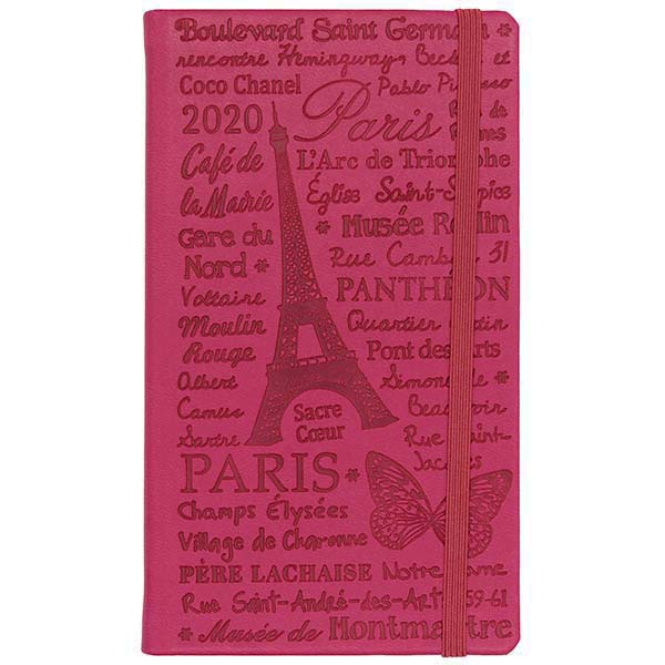 Herlitz Buchkalender Slimtimer Lady pink 2020