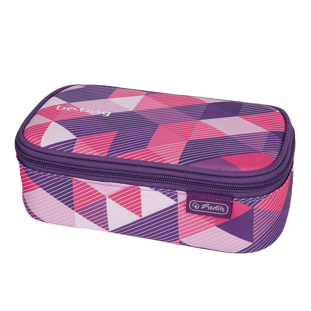 Herlitz Faulenzer Purple Checked be.bag beatBox