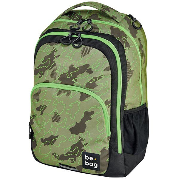 Herlitz Rucksack be.bag be.ready Abstract Camouflage