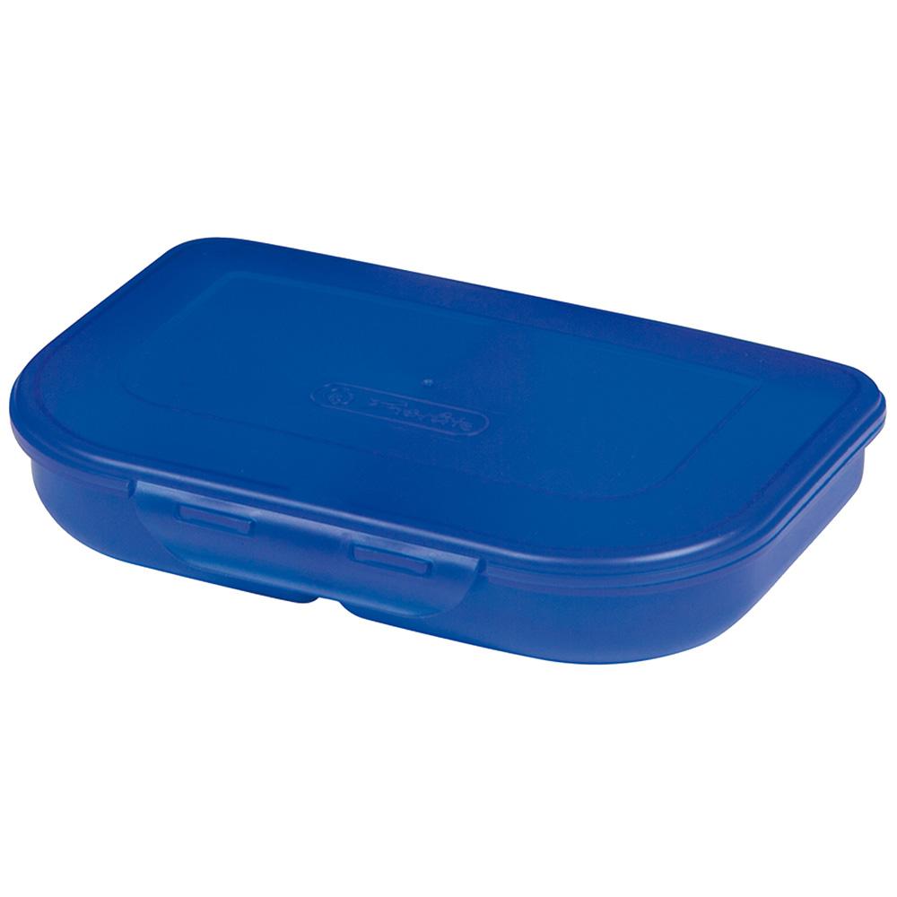 Herlitz Brotdose blau