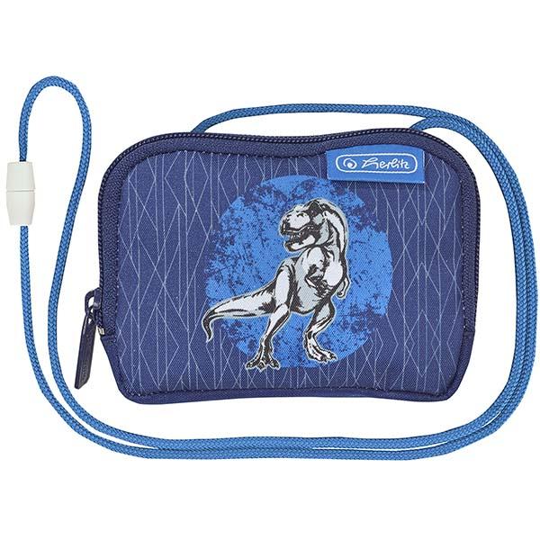 Herlitz Brustbeutel Blue Dino