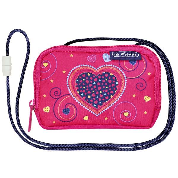 Herlitz Brustbeutel Pink Hearts