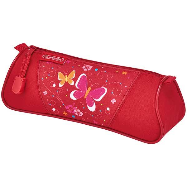Herlitz Faulenzer dreikant Butterfly rot