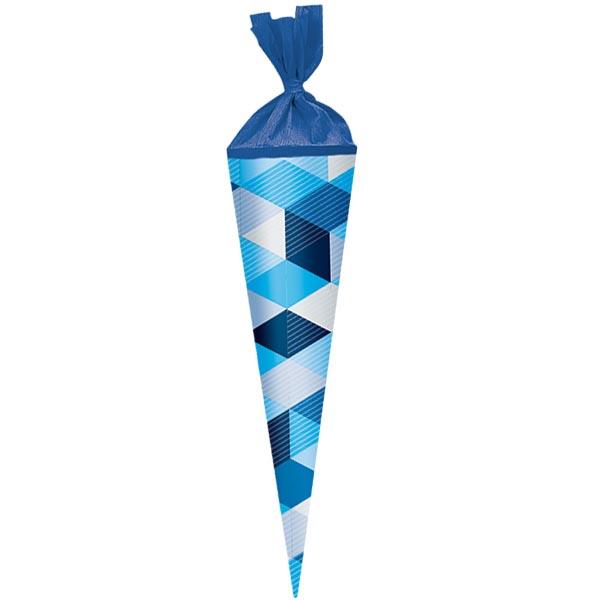 Herlitz Geschwistertüte Blue Cubes 35 cm