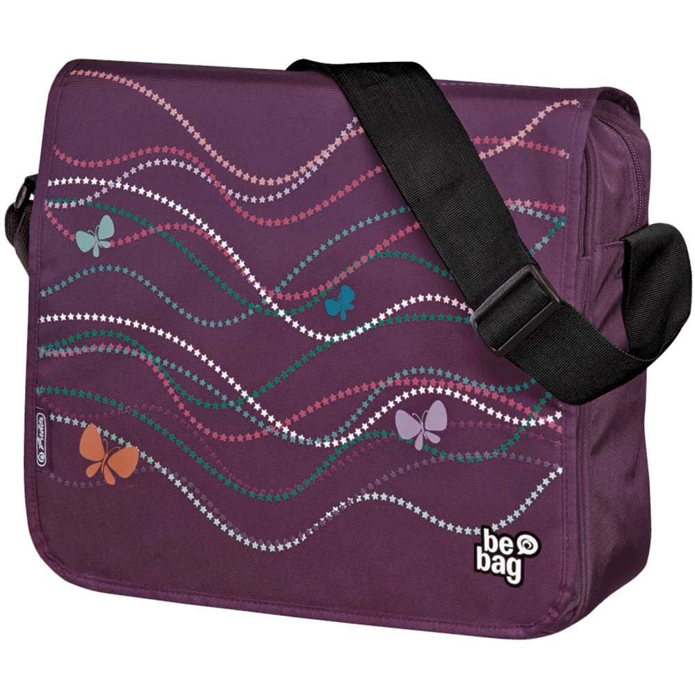 Herlitz Butterfly Power be.bag Messenger Bag
