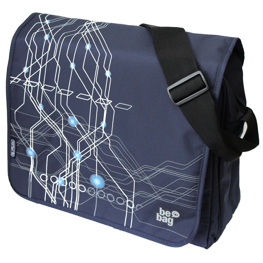 Herlitz Electric be.bag Messenger Bag