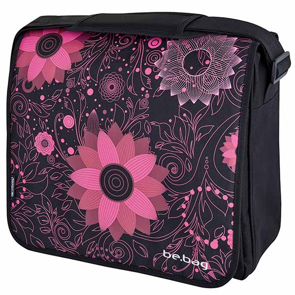 Herlitz Ornament Flowers be.bag Messenger Bag