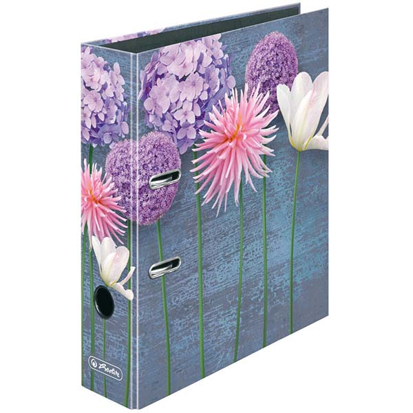 Herlitz Motivordner Blumen 80 mm DIN A4