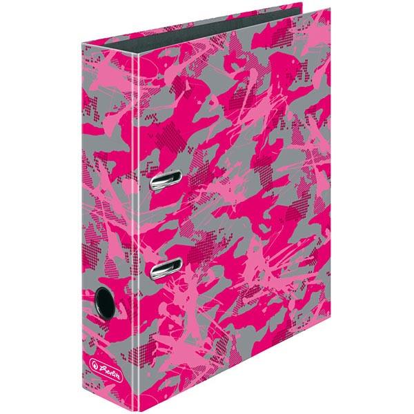 Herlitz Motivordner Camouflage Pink 80 mm DIN A4
