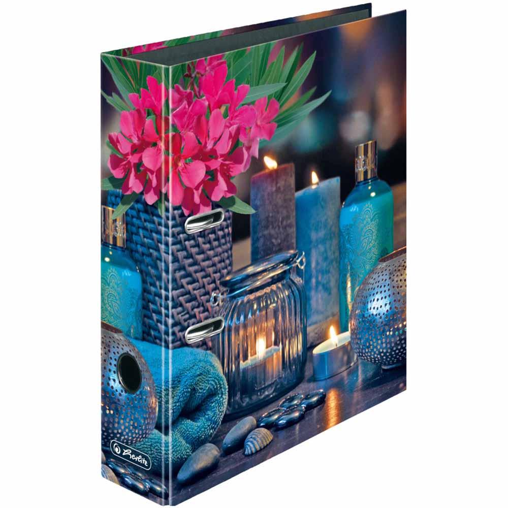 Herlitz Motivordner Kerzen 80 mm DIN A4