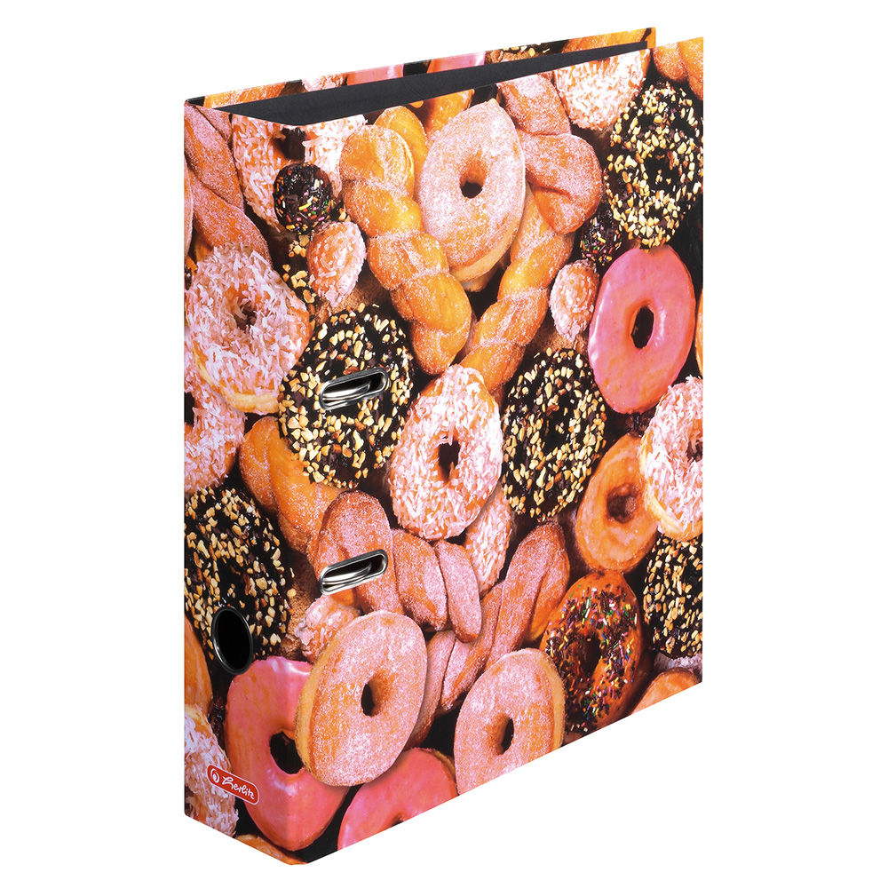 Herlitz Ordner Donuts 80 mm DIN A4 maX.file