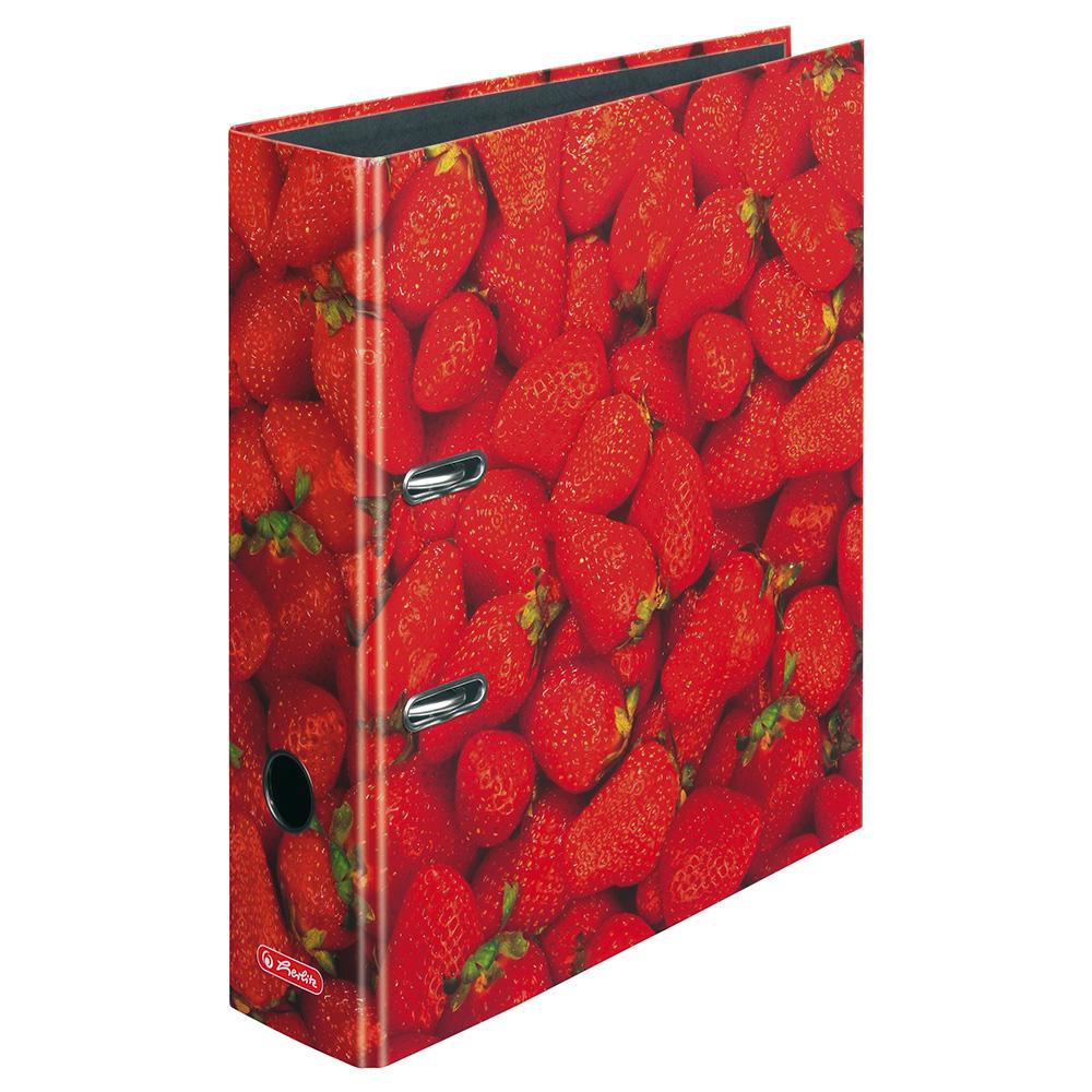 Herlitz Motivordner Erdbeeren 80 mm DIN A4