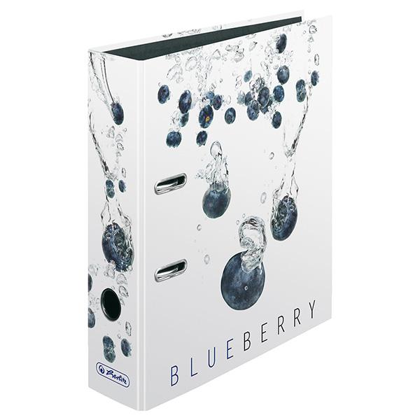 Herlitz Motivordner Fresh Fruit Blaubeere 80 mm DIN A4