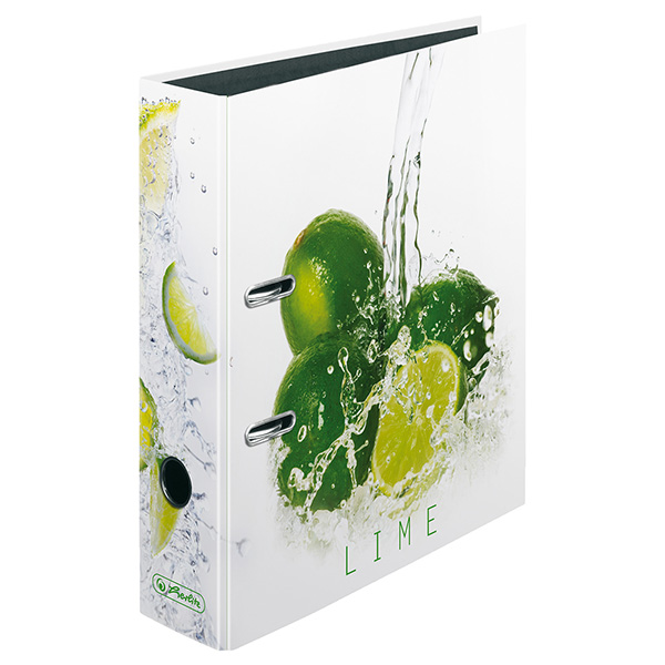 Herlitz Ordner Fresh Fruit Limette 80 mm DIN A4 maX.file