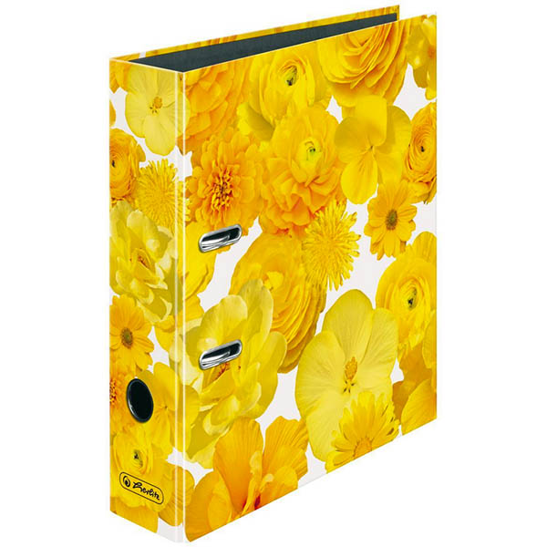 Herlitz Ordner Yellow 80 mm DIN A4 maX.file