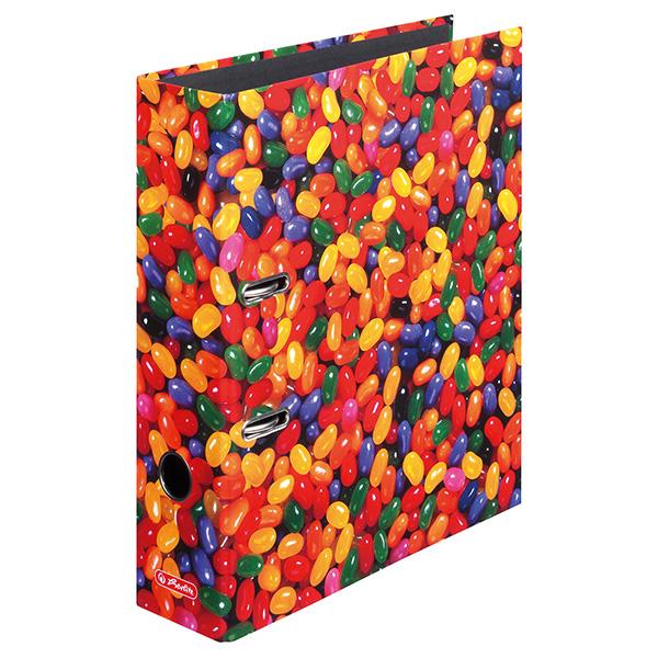 Herlitz Motivordner Jelly Beans 80 mm DIN A4
