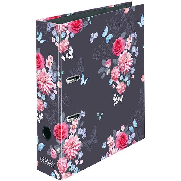 Herlitz Motivordner Ladylike Flowers 80 mm DIN A4