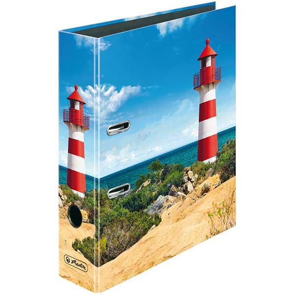 Herlitz Motivordner Leuchtturm 80 mm DIN A4